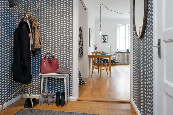Skandynawskie mieszkanie w Goteborgu