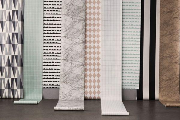Skandynawskie tapety i naklejki na ścianę