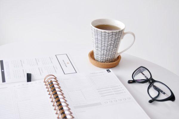Organizacja dnia-planner dzienny