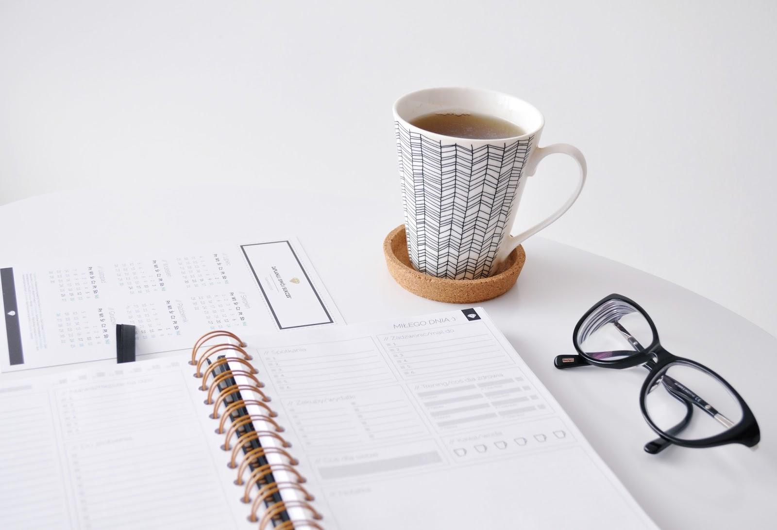 Organizacja dnia-planner dzienny Zaplanuj swój sukces