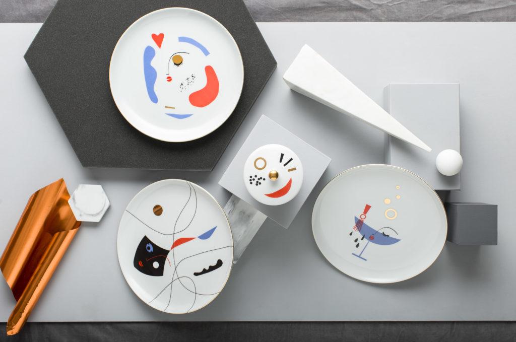polska ceramika Look at me Plates